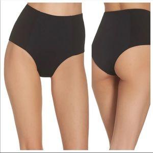 L*Space Jackie High Waist Bikini Bottom Black M
